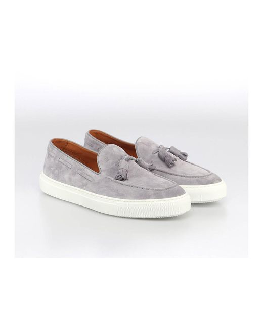 Fratelli Rossetti Loafers in Gray für Herren