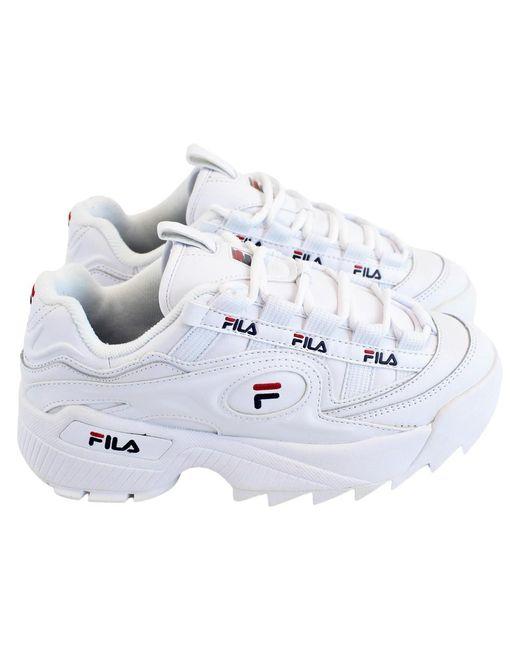 Fila White Low Shoe Footwear