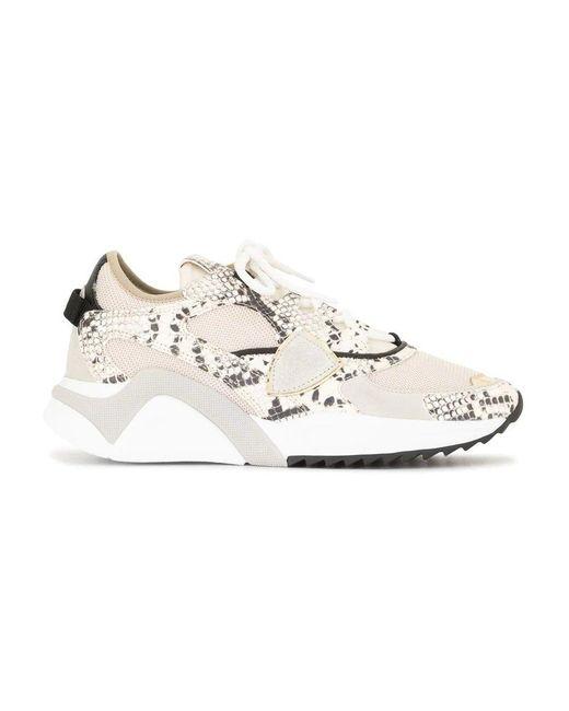 Philippe Model Sneakers in het Natural voor heren
