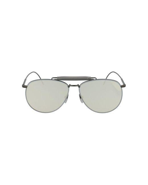 Thom Browne Glasses Tb-015-ltd-blk-gry-62 Ltd-blk-gry in het Gray