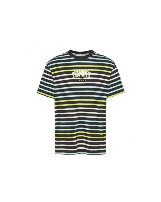 Tommy Hilfiger Camiseta in het Black voor heren