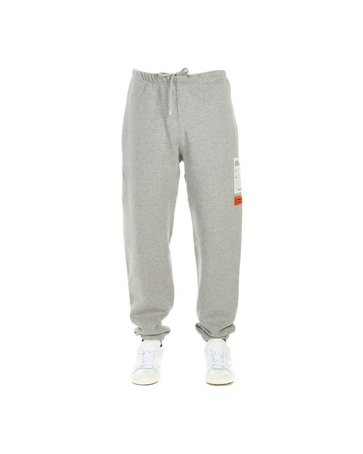 Heron Preston Trousers in het Gray voor heren