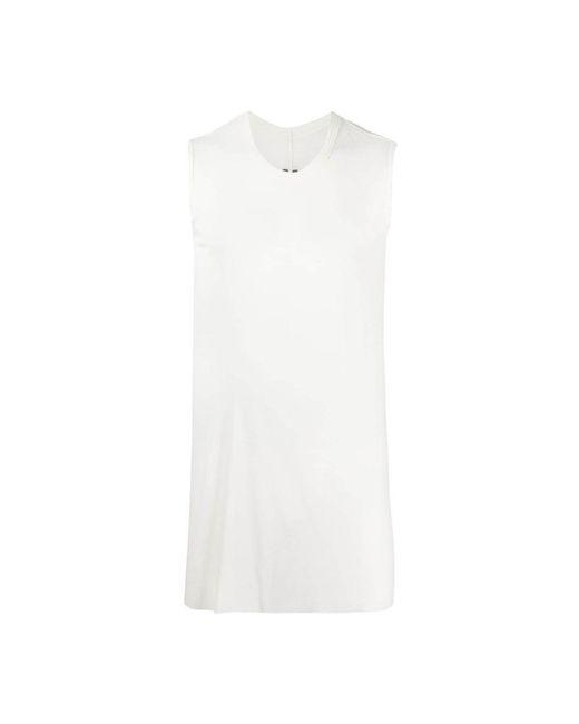 Tshirt di Rick Owens in White da Uomo