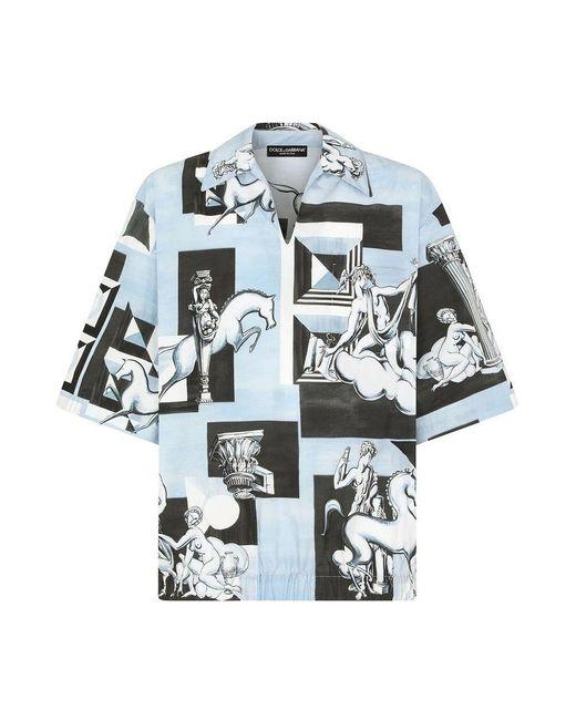 Dolce & Gabbana Camicia in het Blue voor heren