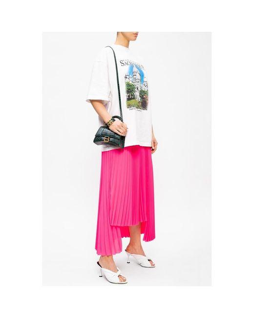 Skirt Rosa Balenciaga de color White
