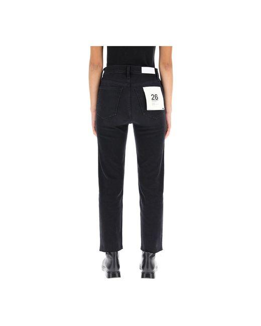 Jeans Negro Re/done de color Black