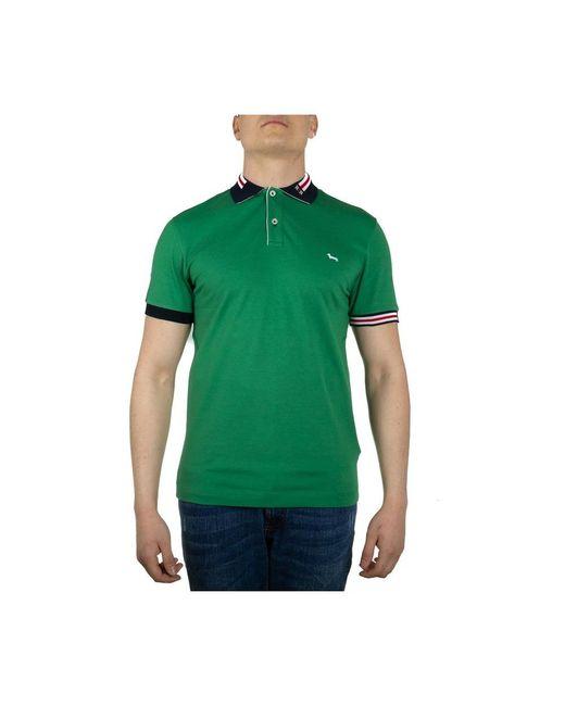 Harmont & Blaine Polo Shirt in het Green voor heren