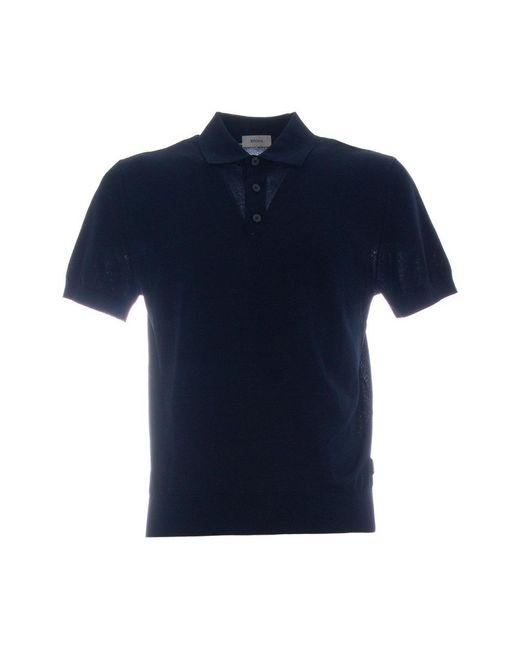 Ermenegildo Zegna Polo in het Blue voor heren