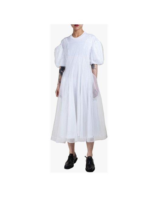 Dress Blanco Simone Rocha de color White