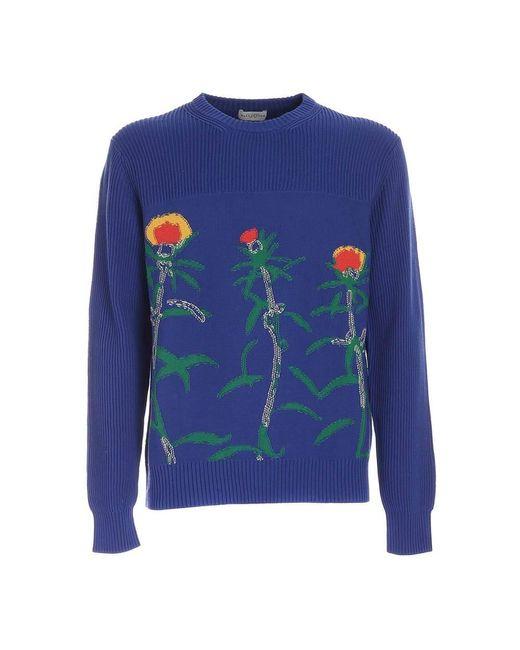 Ballantyne Sweater in het Blue voor heren