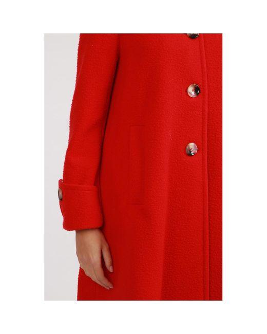 Mauro Grifoni Coat in het Red
