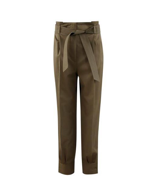 Trousers di Max Mara in Brown