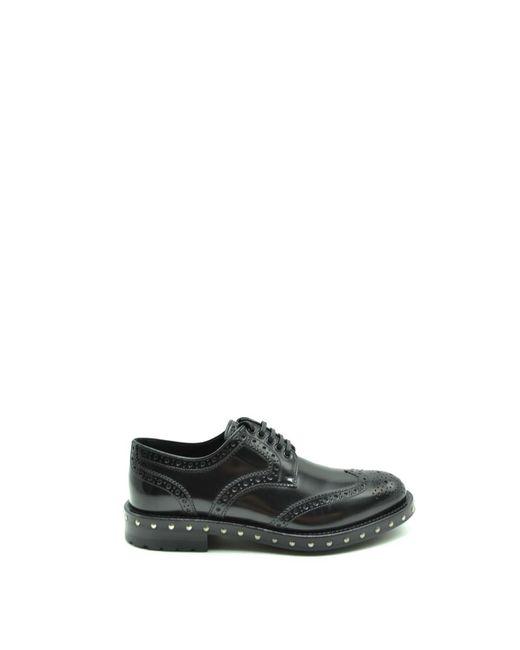 Dolce & Gabbana Derby Schoenen in het Black