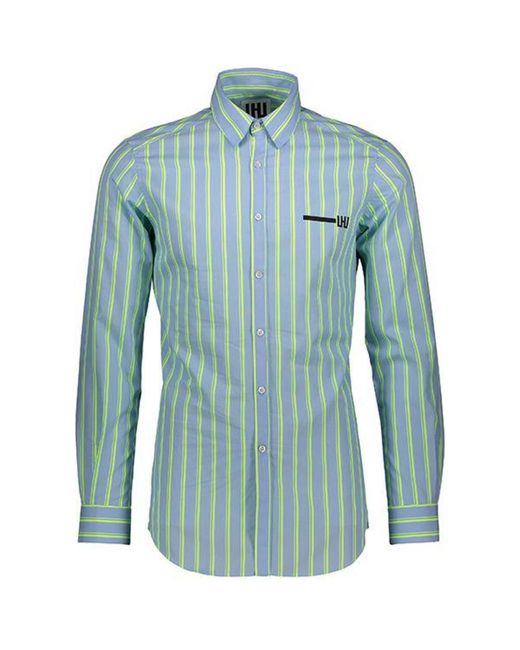 Les Hommes Shirt in het Blue voor heren