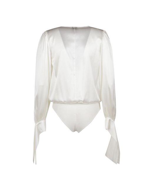 Body Diva Blanco Pinko de color White