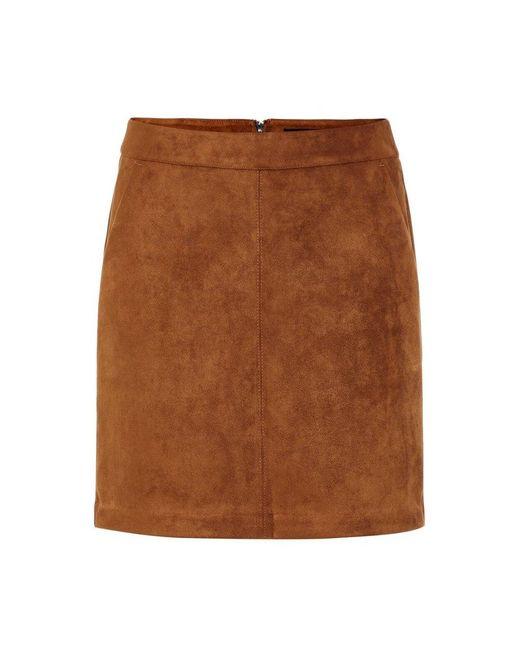 Vero Moda Rok Mini in het Brown