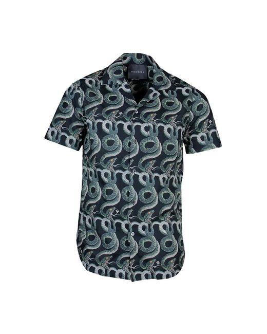 John Richmond Shirt Snakes in het Black voor heren