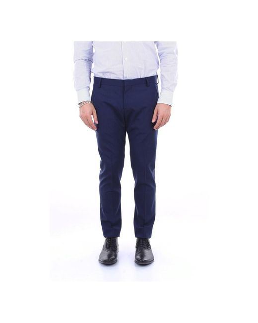 Entre Amis Trousers in het Blue voor heren