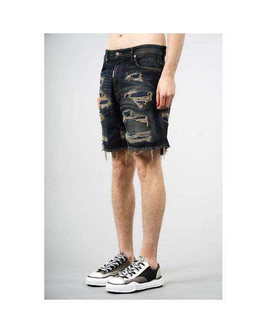 Shorts Negro Represent de hombre de color Black