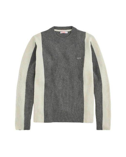 Block sweater - K40135-06 Sun 68 pour homme en coloris Gray
