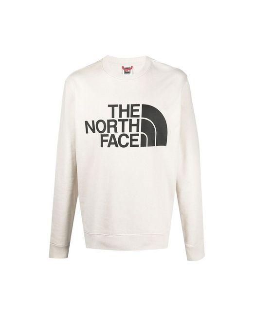 The North Face Felpa Standard Crew in het White voor heren