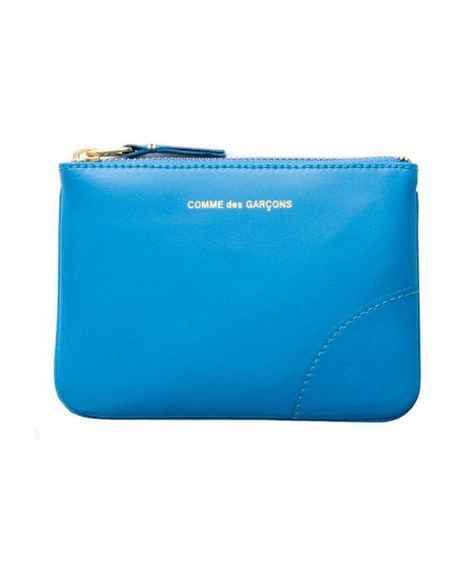 Wallet Sa8100 Comme des Garçons en coloris Blue