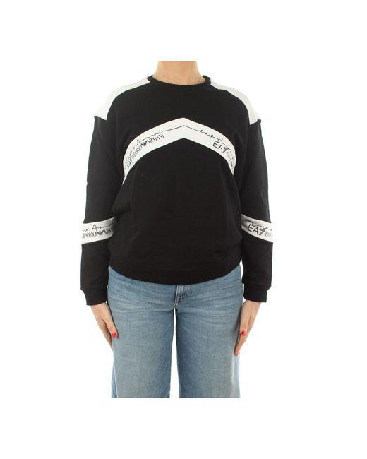 EA7 Ea7 3ktm44 Tj2pz Choker 1200 Sweatshirt in het Black