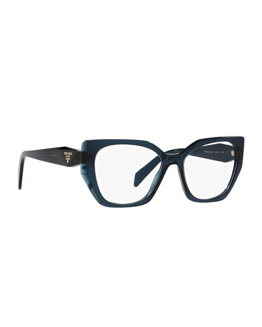 Prada Glasses 18wv in het Blue