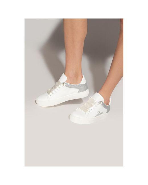 Furla White Hikaia Low sneakers