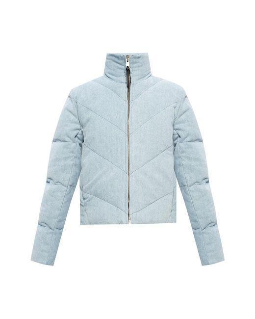 'Dallas' puffer jacket di AllSaints in Blue