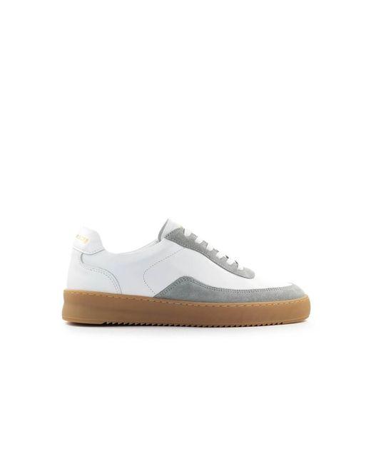 Filling Pieces Mondo Ripple Carye Sneakers in het White voor heren