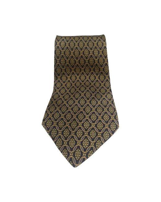 Fendi Vintage Pre-owned Tie in het Blue voor heren