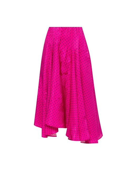 Balenciaga Stip Rok in het Pink