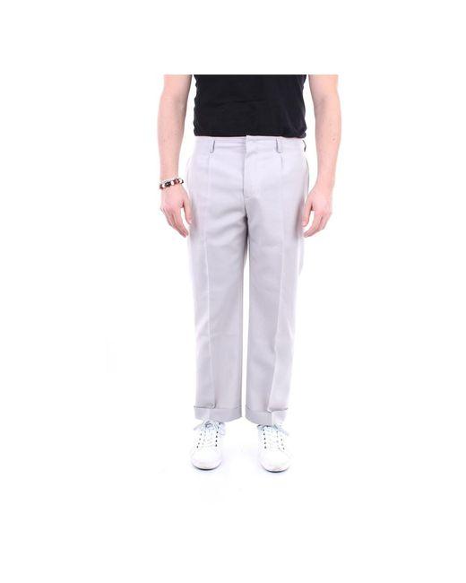 Givenchy Bm50he12k4 Elegant Broeken in het Gray voor heren