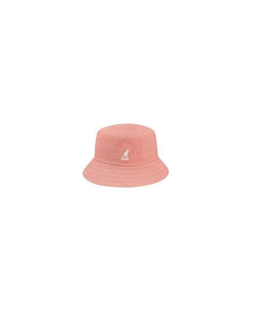 Kangol Hat in het Pink