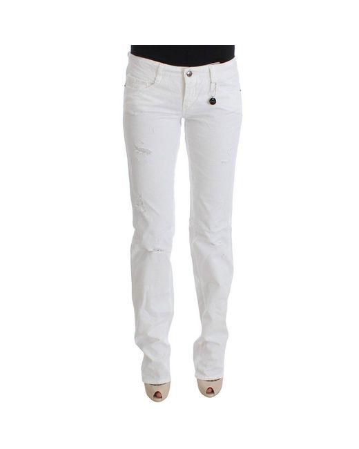 CoSTUME NATIONAL Jeans in het White