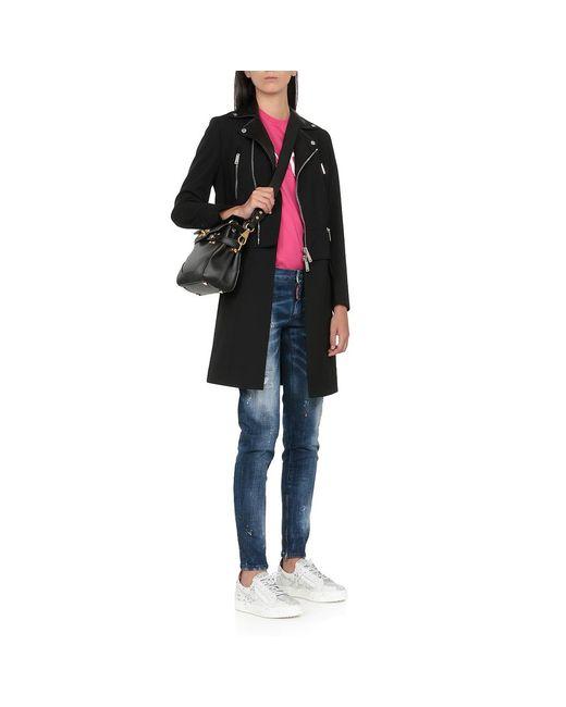 Abrigo Negro DSquared² de color Black