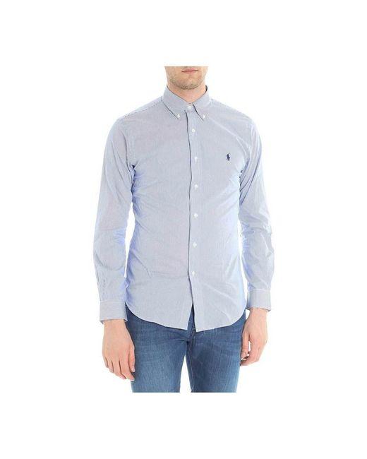 Polo Ralph Lauren Shirt in het Blue voor heren