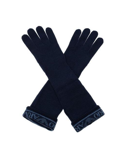 Emporio Armani Handschoenen in het Blue