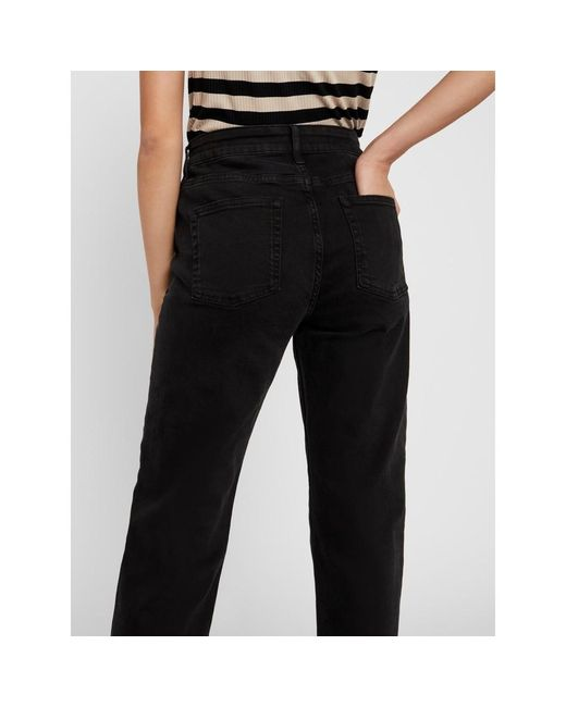 Jenna Strght ANK Jeans Ki014Bl: Noisy May en coloris Black