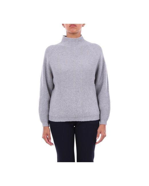 S99587F07R09018 Crewneck knitwear di Peserico in Gray