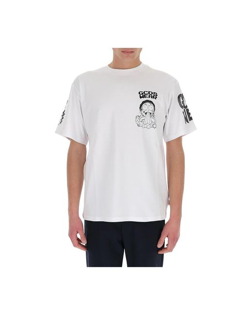 T-shirt Gcds pour homme en coloris White