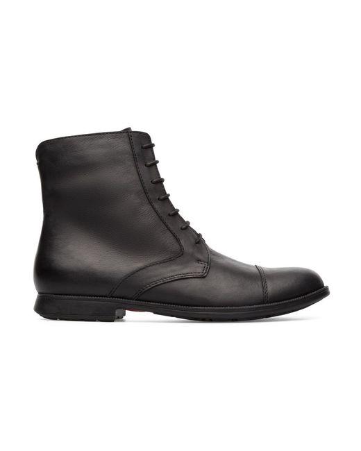 Camper Ankle Boots Mil in het Black