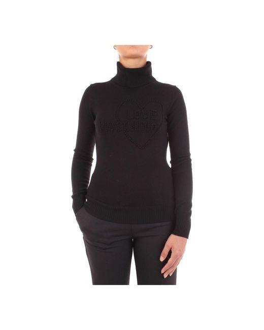 Love Moschino Gebreide Vrouw in het Black