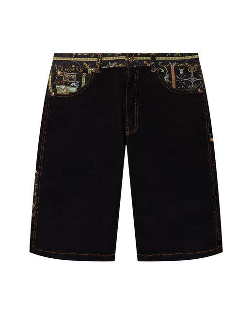 PUMA Baroque Print Shorts in het Black voor heren