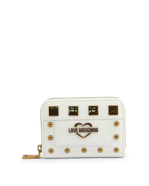 Love Moschino Jc5651pp0bko Wallet in het White