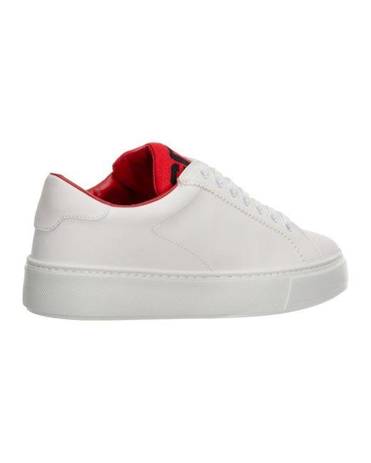 Scarpe sneakers in pelle Blanco Gcds de hombre de color White