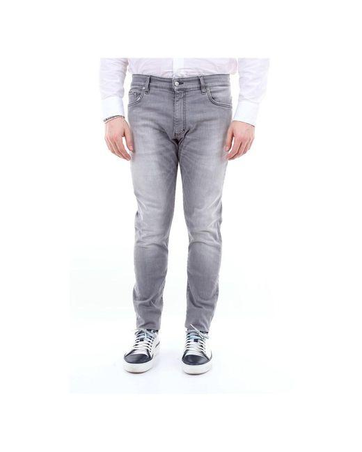 Represent M07010essential Skinny in het Gray voor heren