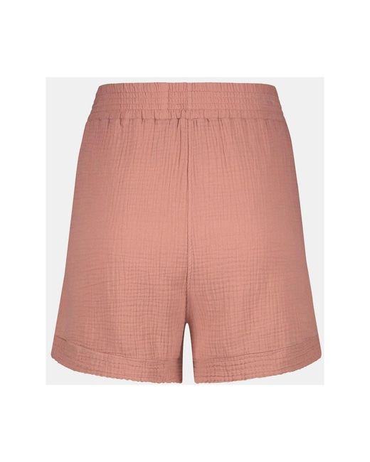 Short Terracotta Oud S21T534 Rosa Penn&Ink N.Y de color Pink