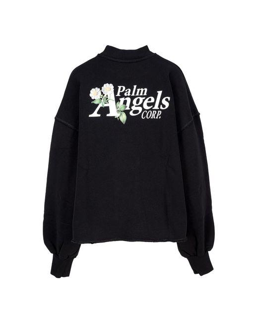 Palm Angels Black Strickwaren Pwba024S21Fle001